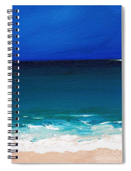 The Tide Coming In Spiral Notebook