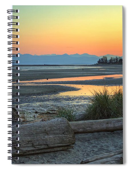 The Tide Is Low Spiral Notebook
