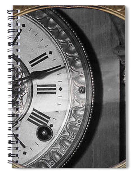 The Time Machine Spiral Notebook