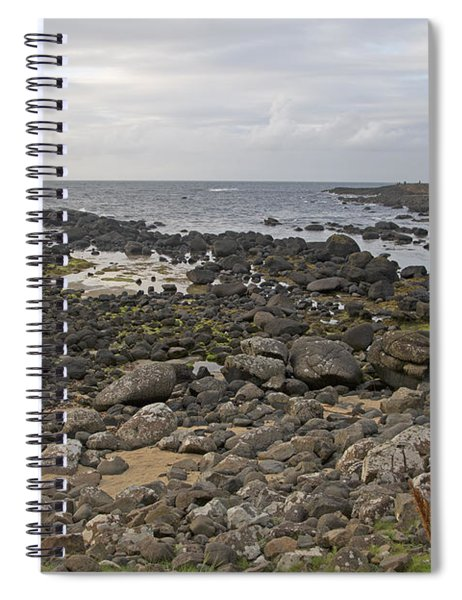 The Timing Of Stone -- Giant's Causeway -- Ireland Spiral Notebook