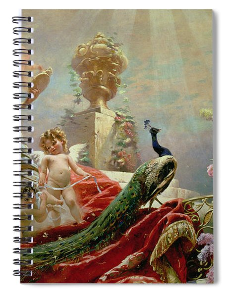 The Toilet Of Venus Spiral Notebook