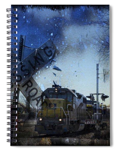 The Train Spiral Notebook