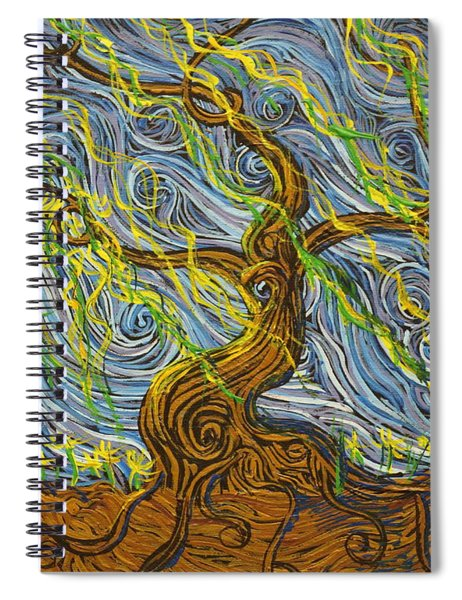 The Tree Have Eyes Spiral Notebook