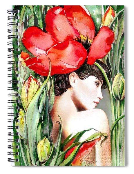 The Tulip Spiral Notebook