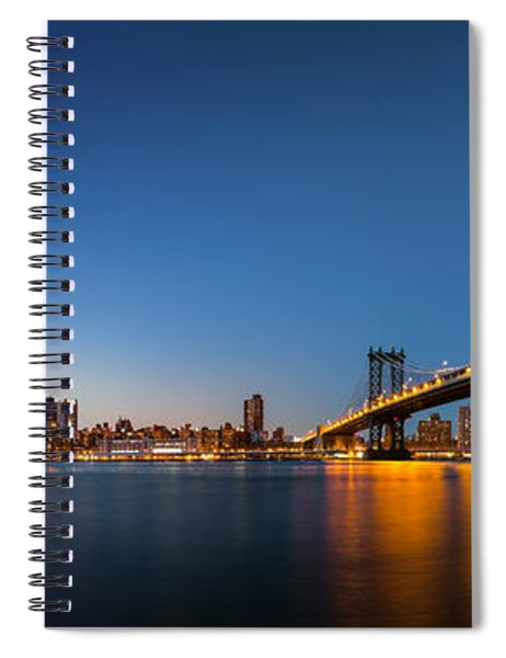 The Two Bridges Spiral Notebook