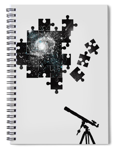 The Unsolved Mystery Spiral Notebook