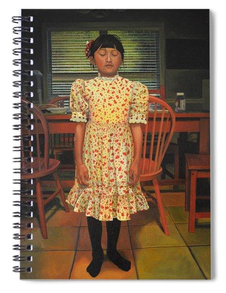 The Valentine Dress Spiral Notebook
