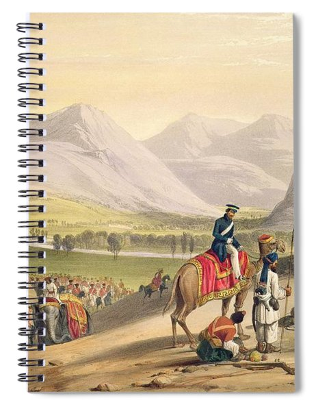 The Valley Of Maidan, From Sketches Spiral Notebook