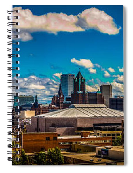 The View That Made Milwaukee Famous Spiral Notebook