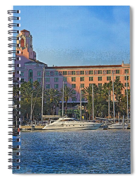 The Vinoy Park Hotel Spiral Notebook