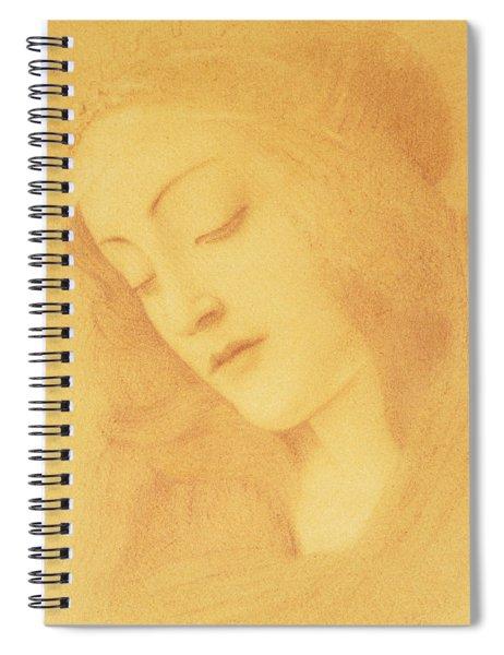 The Virgin After Botticelli Spiral Notebook