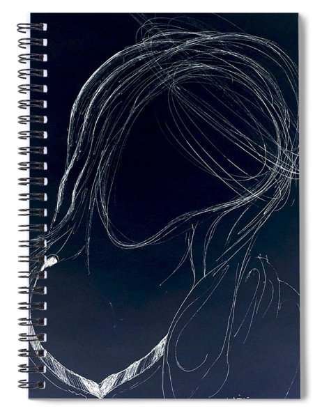 The Virgin Mary II Spiral Notebook