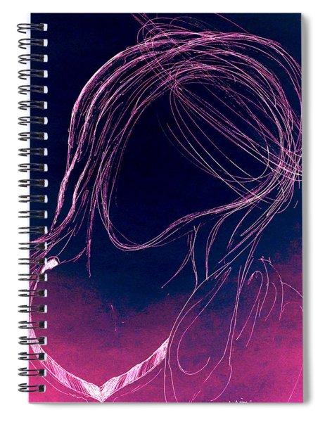 The Virgin Mary IIi Spiral Notebook