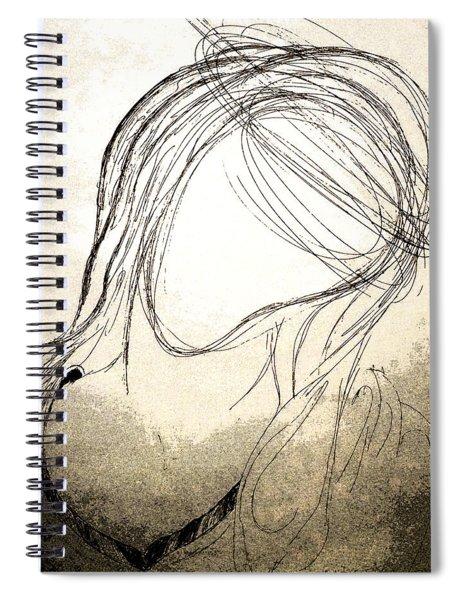 The Virgin Mary V Spiral Notebook