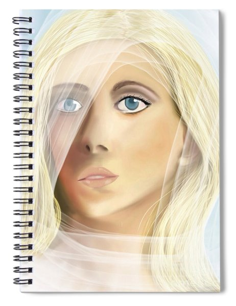 The Waiting Bride Spiral Notebook