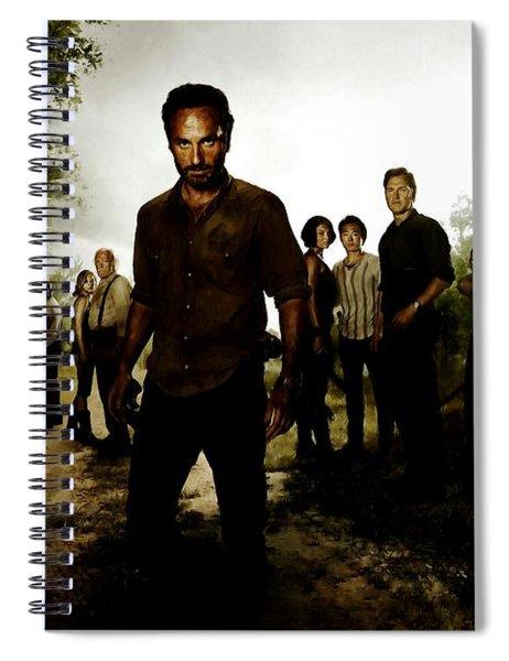 The Walking Dead Spiral Notebook