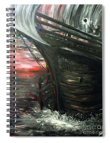 The Wanderer Spiral Notebook