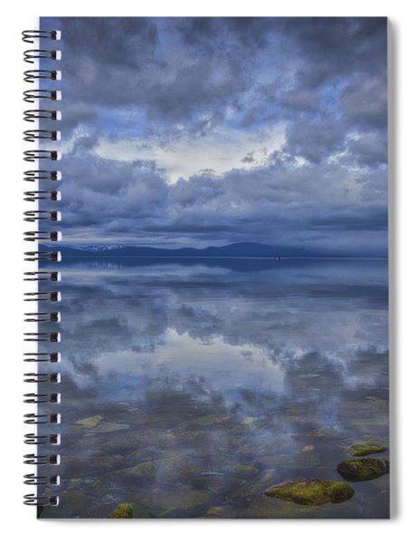 The Waters Beneath Spiral Notebook