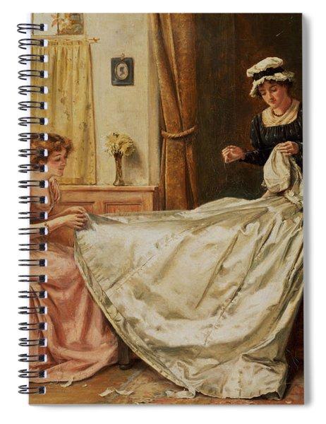 The Wedding Dress Spiral Notebook