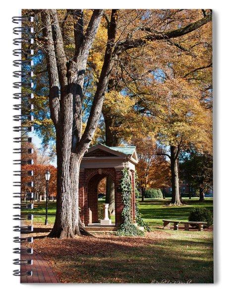 The Well - Davidson College Spiral Notebook