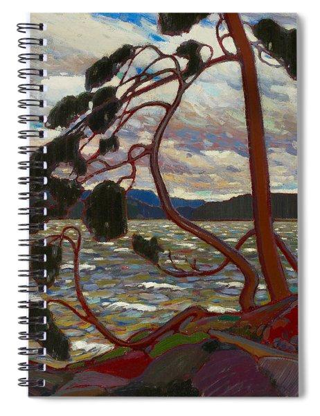 The West Wind Spiral Notebook