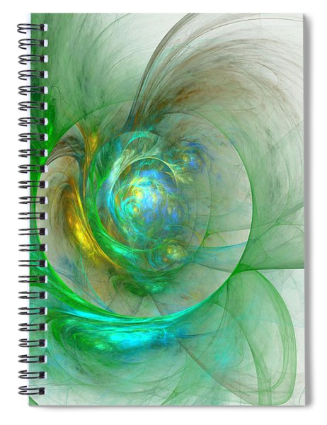 The Whole World In A Small Flower Spiral Notebook