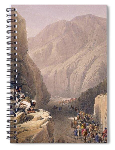 The Wild Pass Of Siri-kajoor Spiral Notebook