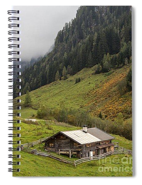 The Wimmertal In Tirol Spiral Notebook