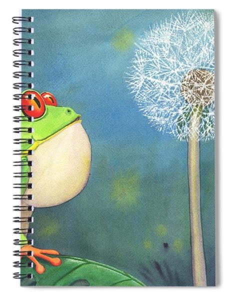 The Wish Spiral Notebook