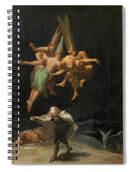 The Witches' Flight Spiral Notebook
