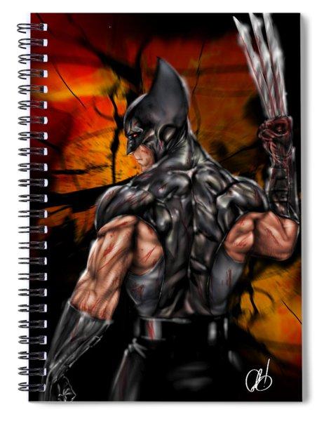 The Wolverine Spiral Notebook