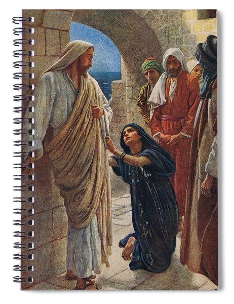 The Woman Of Canaan Spiral Notebook