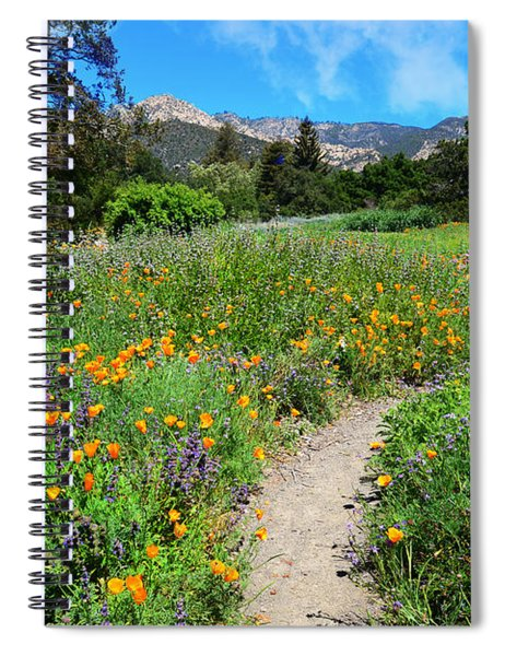The Wonders Of Spring Spiral Notebook
