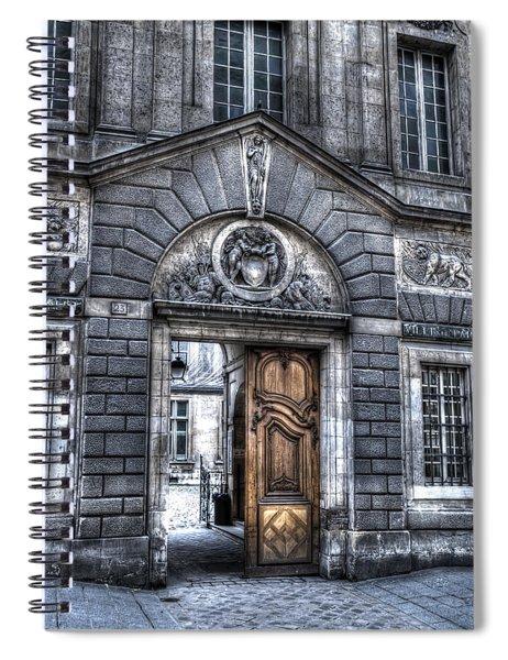 The Wooden Door Spiral Notebook