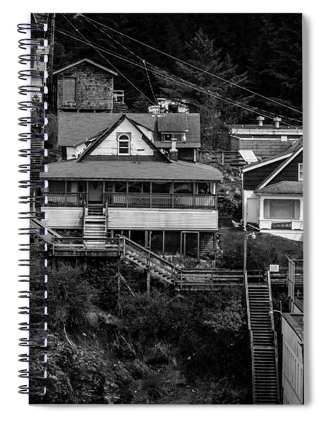 The Wooden Path Spiral Notebook