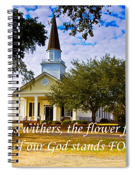 The Word Of God Stands Spiral Notebook
