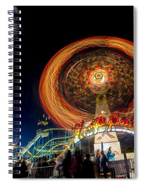 The Zipper Spiral Notebook