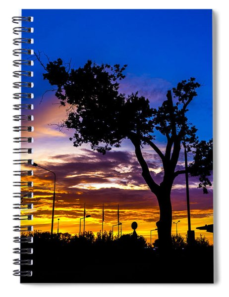 There Is Something Magical About The Sky Spiral Notebook
