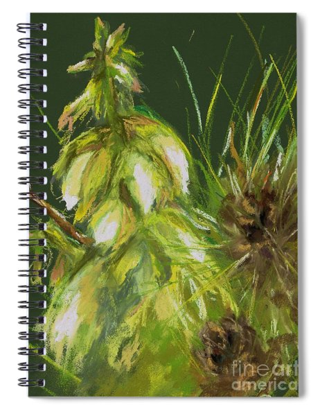 Theres A Yucca In My Yard Spiral Notebook