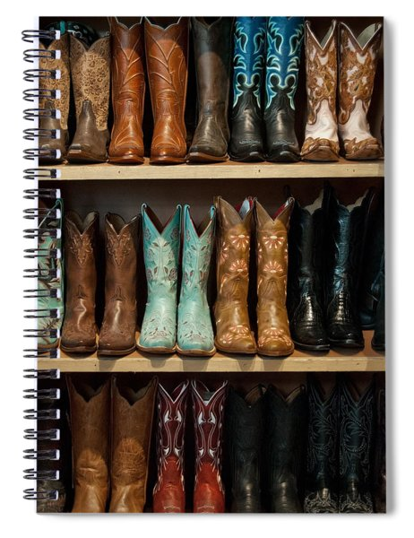 These Boots Were Made For Walking Spiral Notebook