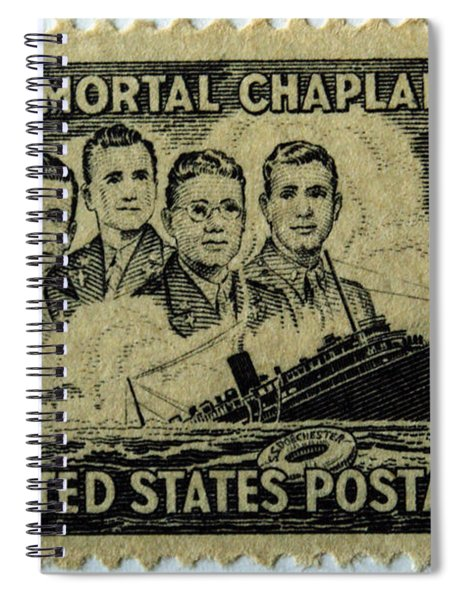 These Immortal Chaplains Spiral Notebook