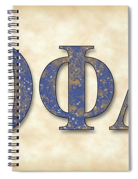 Theta Phi Alpha - Parchment Spiral Notebook
