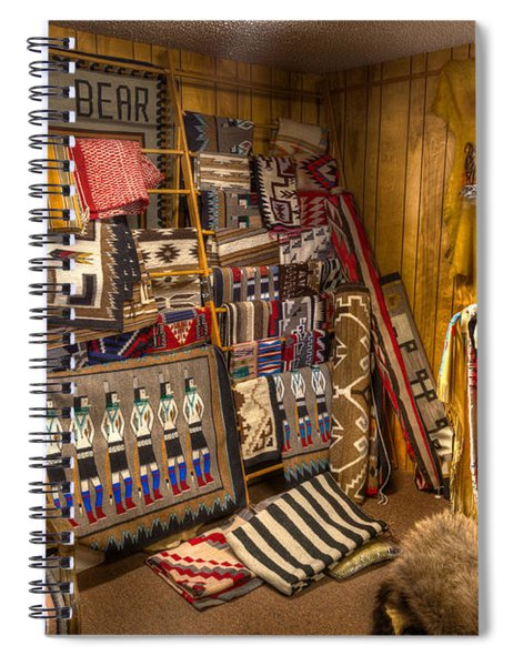 Thin Bear Trading Post Utah Spiral Notebook