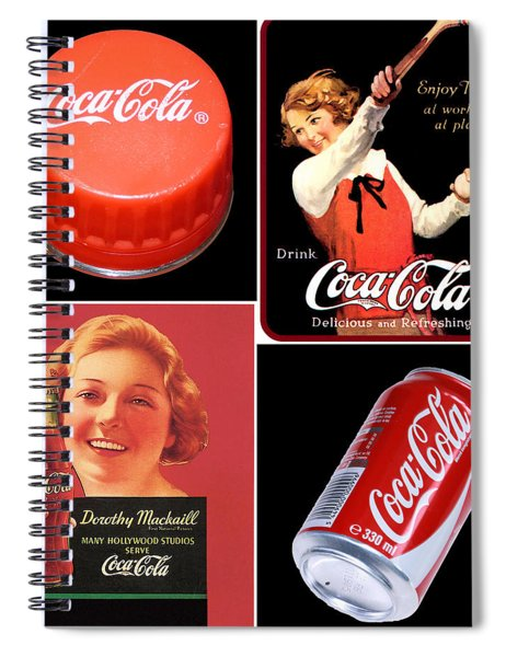 Things Go Better With -  Spiral Notebook