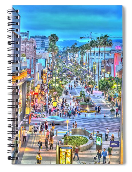 Third Street Promenade Spiral Notebook