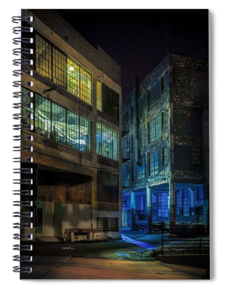 Third Ward Alley Spiral Notebook