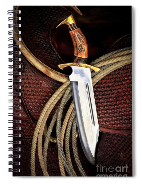 This Is A Knife Spiral Notebook