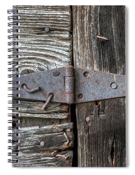 The Back Door Spiral Notebook