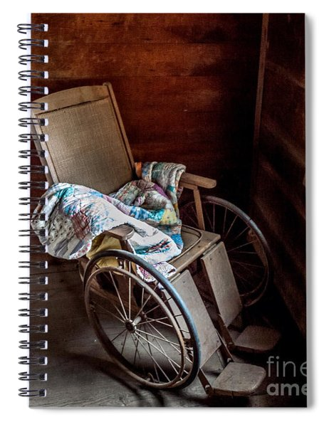 Wheelchair With A View Spiral Notebook