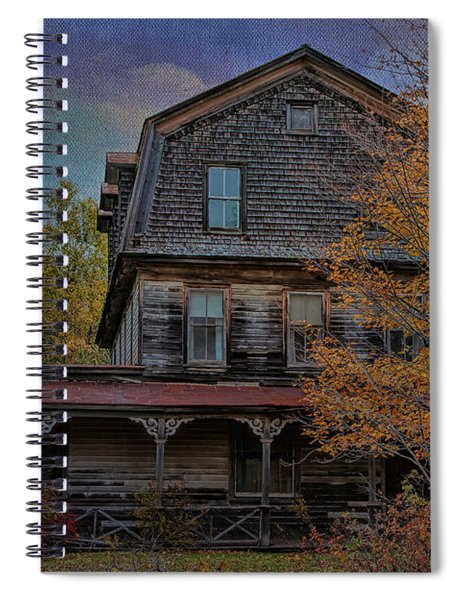 This Olde House In New York Spiral Notebook